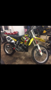 2003 rm250 with ownership