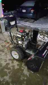 """2008 Murray two stage 11.5/27"""" snowblower"""