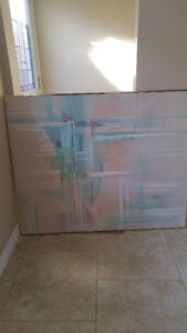 "40""x 50"" Abstract painting $40 obo"