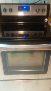 Stainless Refrigerator and Stove