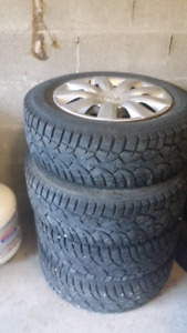 """Toyota Corolla 16"""" Winter tires with rims( BEST DEAL!!!)"""