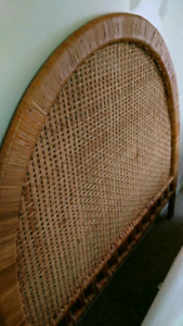 Beautiful Rattan Headboard