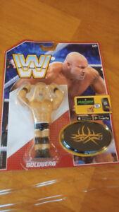 "WWE Wrestling App 4.5"" Retro Action Figure Goldberg READ"