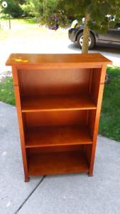 Wood Book Shelf