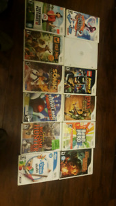 Wii games For Sale !!!!