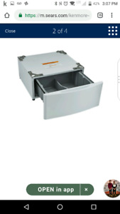 Pedestals for Washer and Dryer  Kenmore Elite