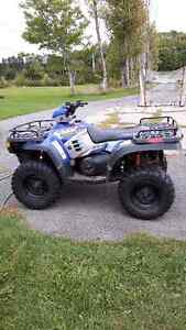 Great ATV not getting used. Will trade for sled.