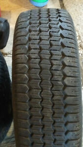Uniroyal winter tires on rims