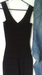 XS Black Marciano dress mint condition $45