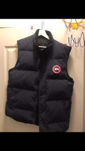 Canada Goose Blue Vest Size M