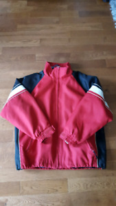 Red and Black Rip Zone Snowboarding Jacket - 2 Jackets in 1