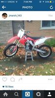 2010 crf 250 trade for truck
