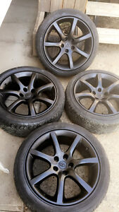 245/45 ZR18 Infiniti rims with tires