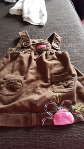 Girls clothes ranging from 6 to 18 months