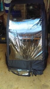 snow blower  snow shield cover