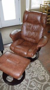 Jysk leather recliner