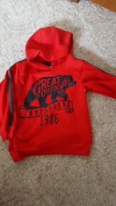 Size 5t hoodie