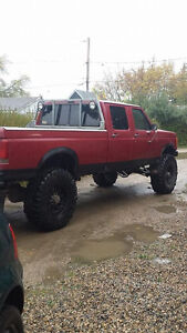 Awesome Bush/Hunting Truck! 1991 Crew Cab F350 on 41's
