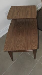 Vintage 2-Tier End Table