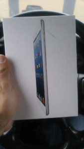 In the box unlocked Apple iPad Mini cellular