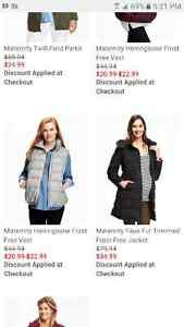 Brand new Old Navy maternity winter jacket