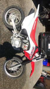 New Honda crf150f