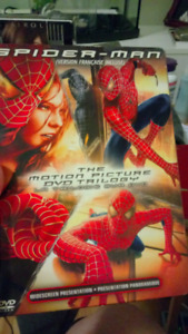 Films DVD. Coffrets Spider-Man. 1-2-3