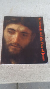 REMBRANT AND THE FACE OF JESUS SOFT COVER TABLETOP BOOK