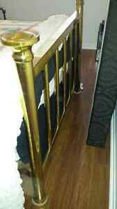 Antique Brass Bed - Double size Kitchener / Waterloo Kitchener Area image 2