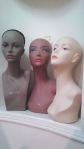 Professional Mannequin Heads