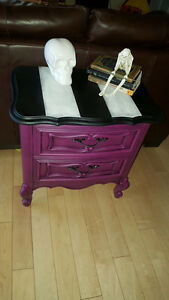 Beautiful refinished French Provincial night table. Edmonton Edmonton Area image 2