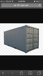 WANTED.....20 foot container Prince George British Columbia image 1