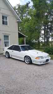 SUPERCHARGED FOXBODY MUSTANG