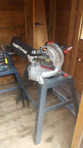 10 inch craftsman mitre saw with stand