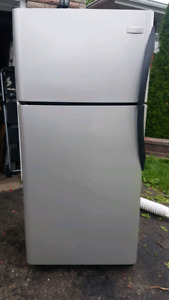 Frigidaire Stainless Fridge & Stove