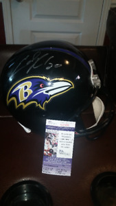 Ed Reed Baltimore Ravens Signed Helmet