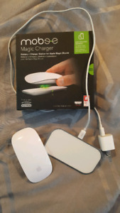 Magic apple mouse and magic charger station