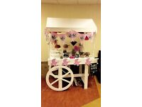 Gorgeous Candy cart sweet cart hire rent for events