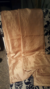 Curtain Set $5 with free rod