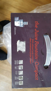 Breville Juicer- New and unopened