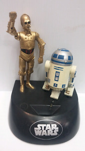 Star Wars C3PO & R2D2 talking bank Think Toys