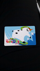 $25 Gift card for Toys R Us!