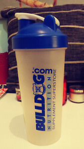 Plastic Nutrition Shake Container