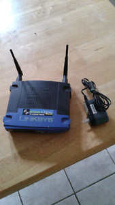 Linksys 2.4g router
