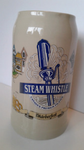 Steam Whistle Oktoberfest beer stein