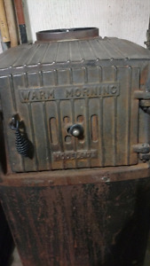 Model 617 coal or wood burning stove