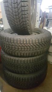 Sienna Odyssey Lexus Firestone Winter Tires And Rims 245/65r17