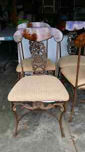 Cast iron/wood chairs French Parisienne style  Kitchener / Waterloo Kitchener Area image 5