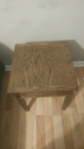 Hand made end tables