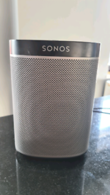 Sonos Play 1 smart speaker and Bridge